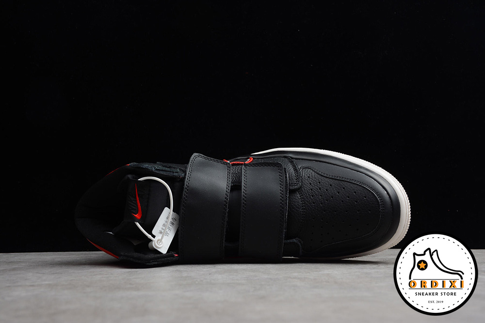 b5f8ce0eddf1f5 Giày Nike Air Jordan 1 High Double Strap Black Red AQ7924-106