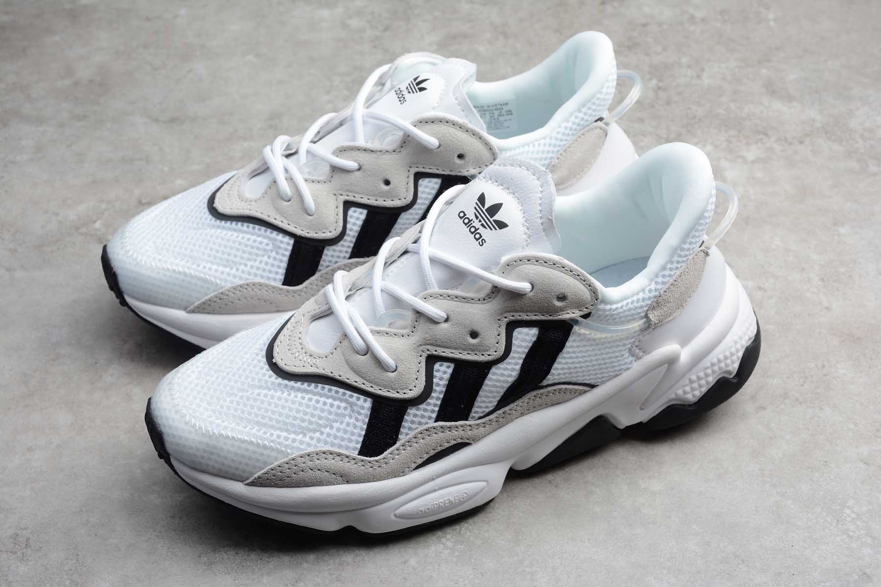Adidas Originals Ozweego Pride Hvid Sort Sand Sko