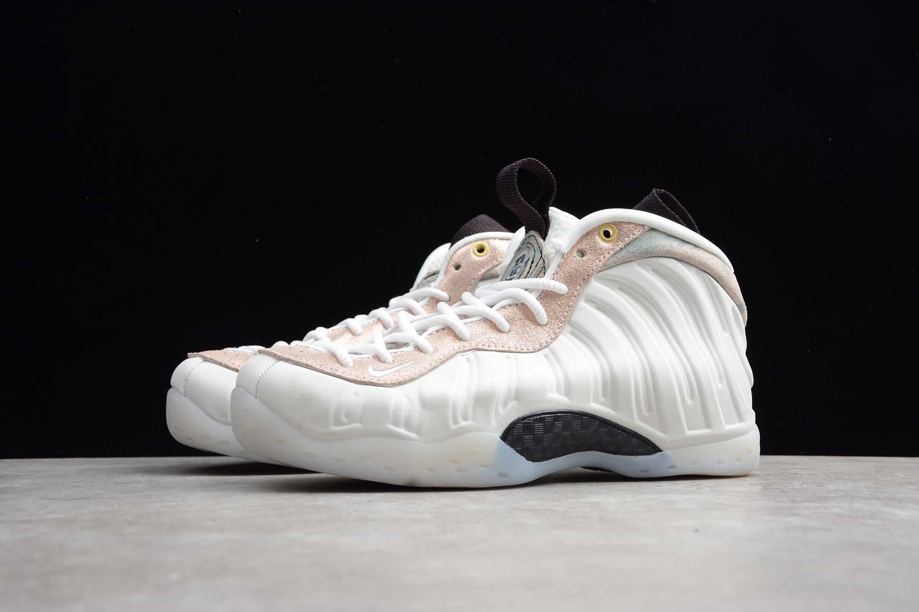 Wmns Air Foamposite One Particle Beige Official Store ...